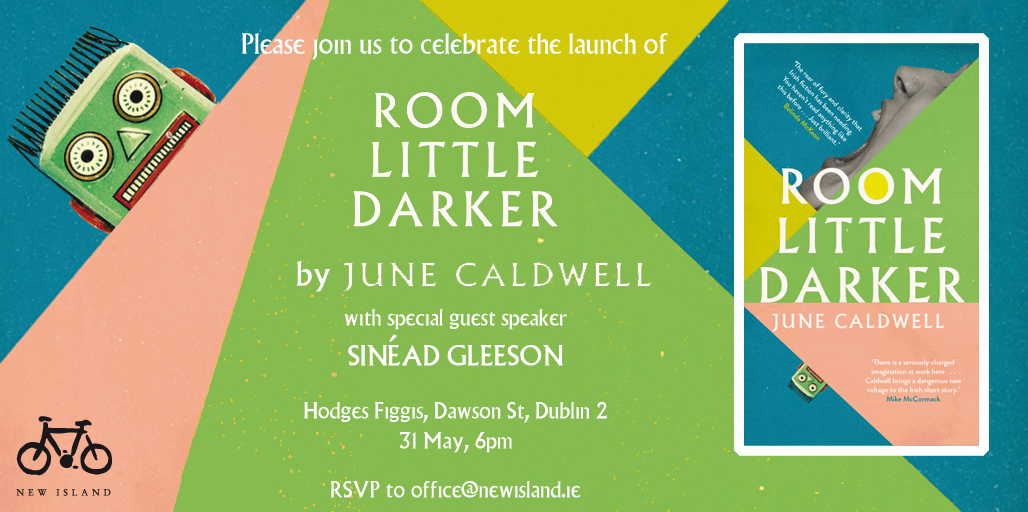 june caldwell - room little darker - invitation