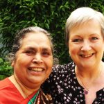 Sister Lucy Kurien and me!