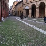 catherine dunne in italy - bologna - piazza santo stefano