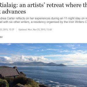 cill rialaig the irish times