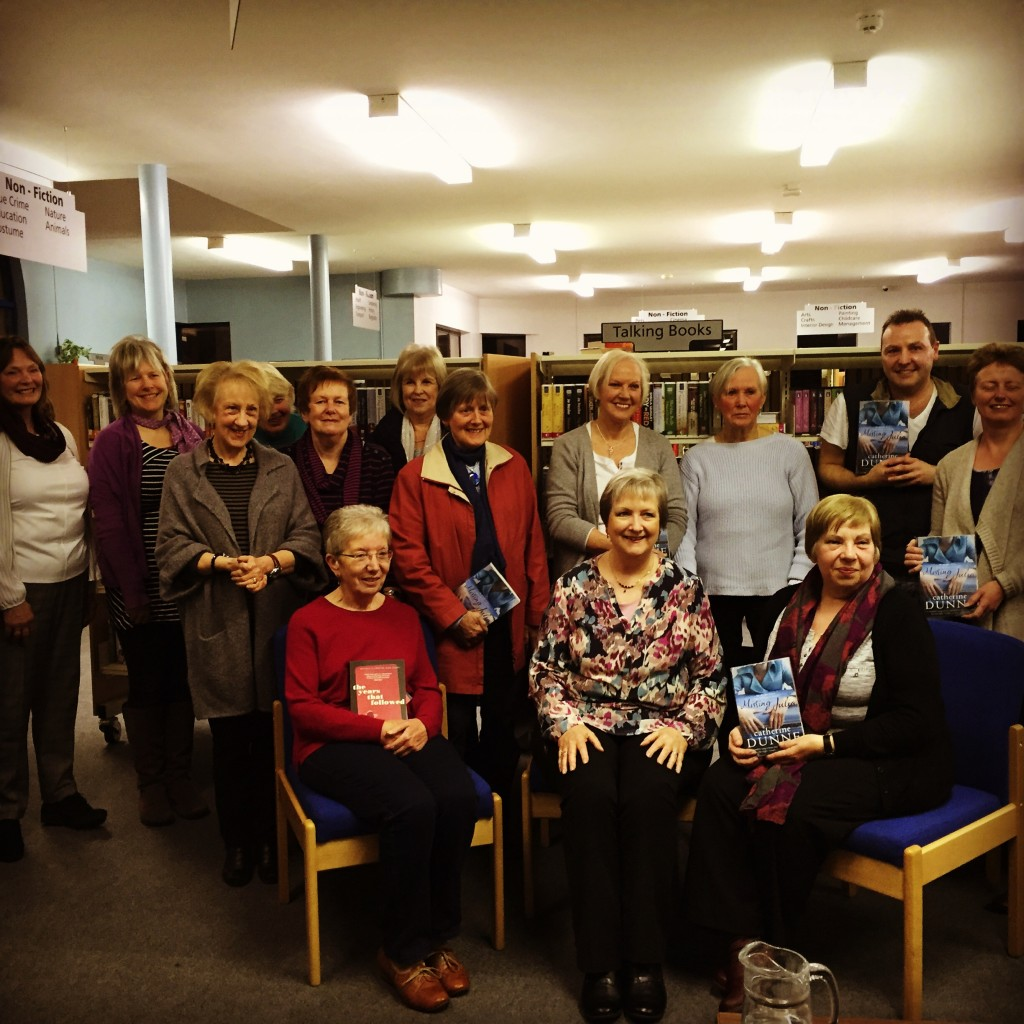 The Years That followed launch - Ballyclare Book Club 15 March 2016