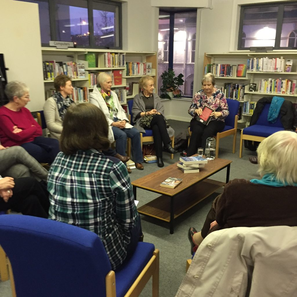 The Years That followed launch - Ballyclare Book Club 2 on 15 March 2016