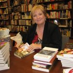 Signing copies of my novels in an Ottawa bookshop